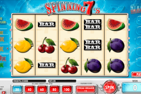 Spinning 7s Slot Machine Online ᐈ Amaya™ Casino Slots