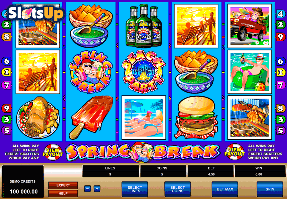 Spring Break Slot Review & Free to Play Online Casino Game