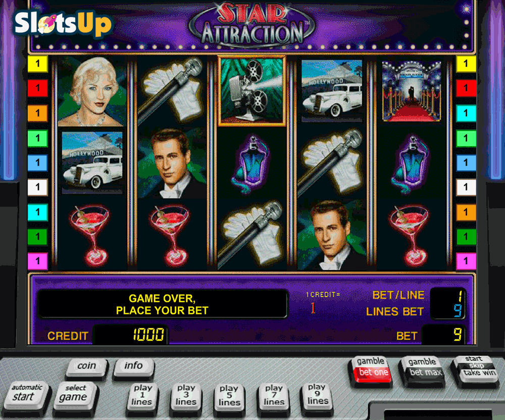 Hollywood Star Slot Machine Online ᐈ Novomatic™ Casino Slots