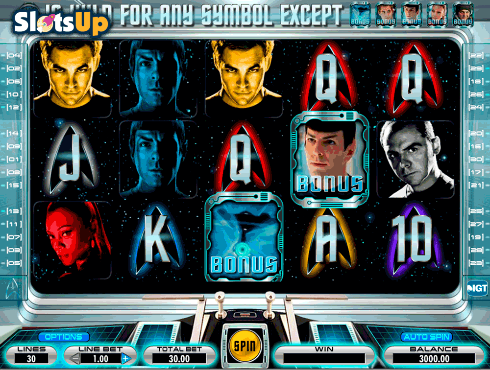 star trek slot machine online free