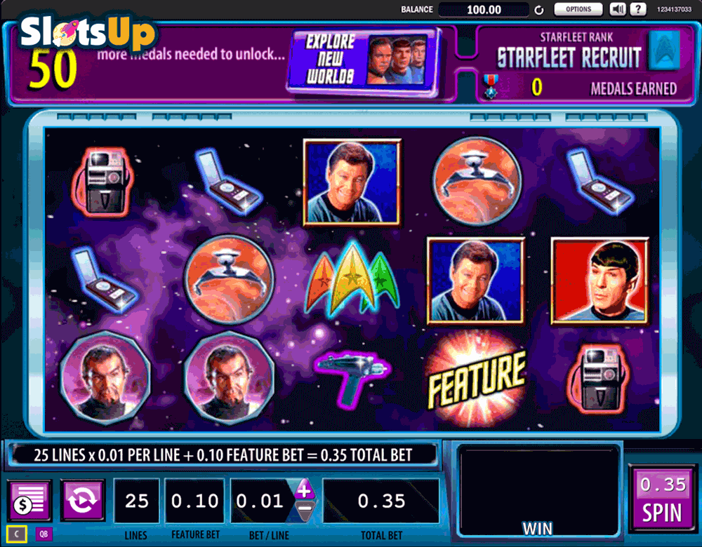 Star Trek Slots Online and Real Money Casino Play