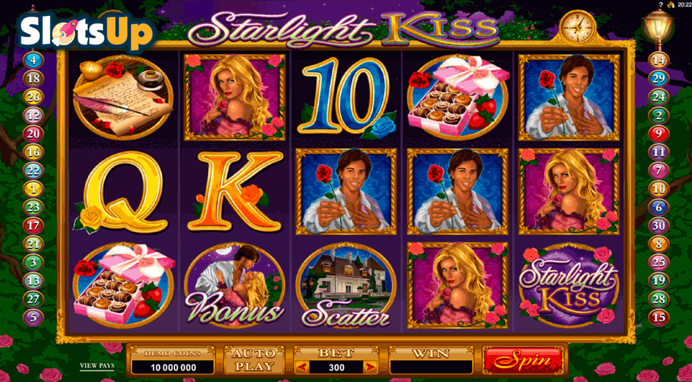 STARLIGHT KISS MICROGAMING CASINO SLOTS