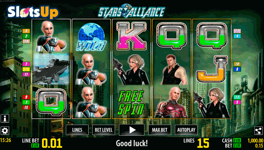 Stars Alliance Slots - Play Free Casino Slot Games
