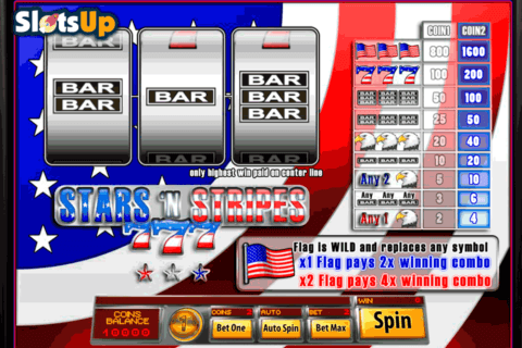STARS N STRIPES SAUCIFY CASINO SLOTS