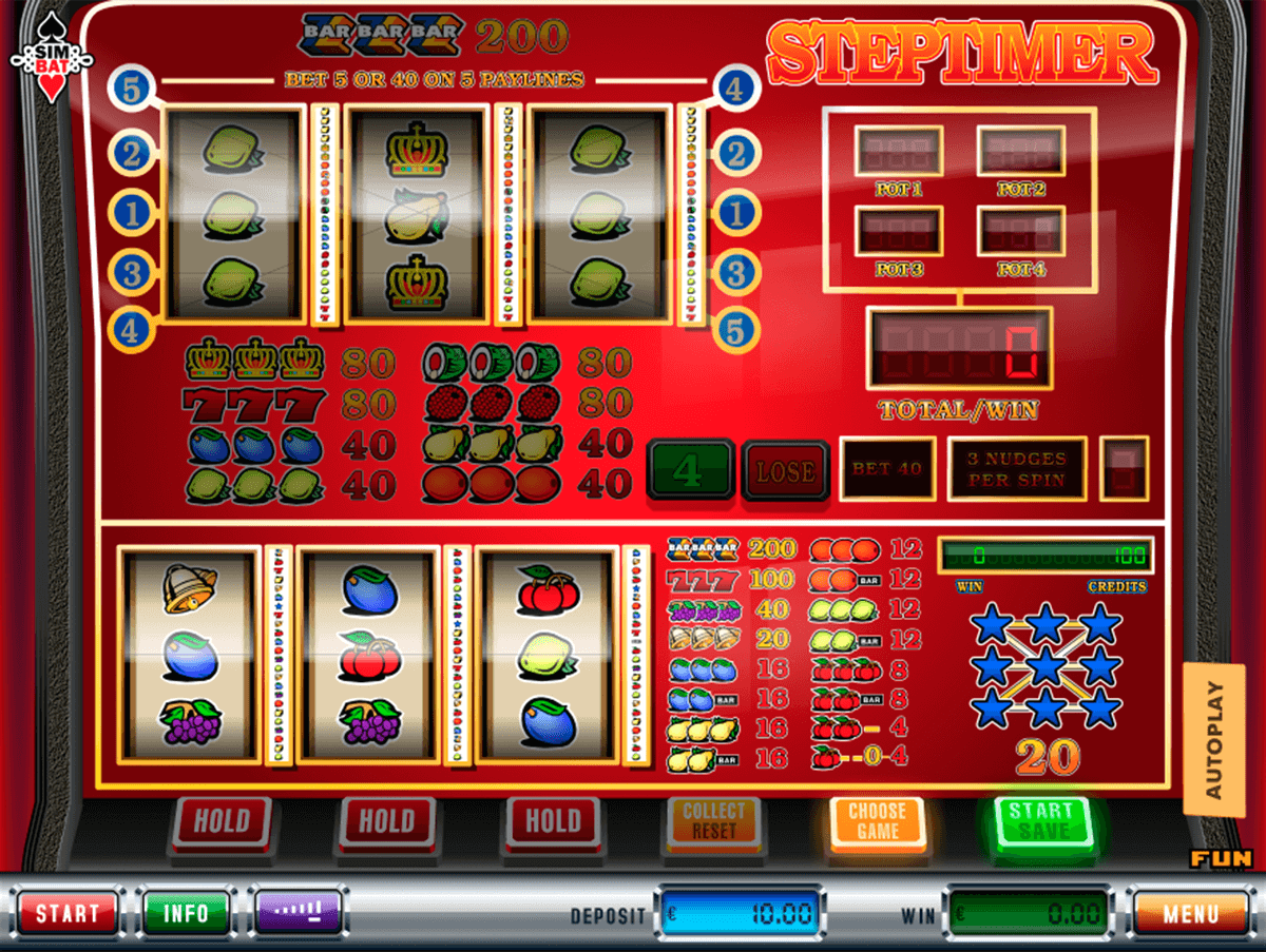 Steptimer™ Slot Machine Game to Play Free in Simbats Online Casinos