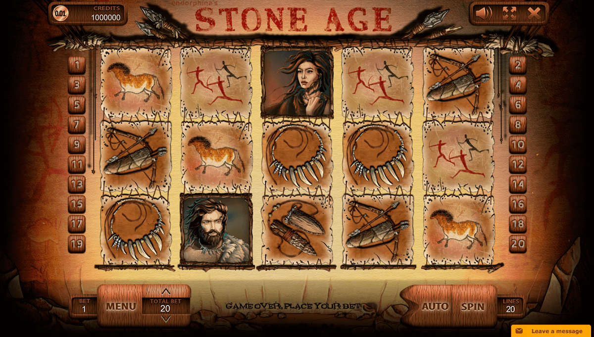 Stone Age Slot Machine Online ᐈ Endorphina™ Casino Slots