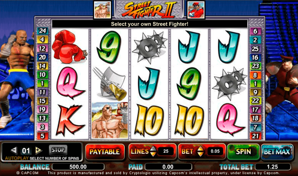 Spiele Street Fighter II - Video Slots Online