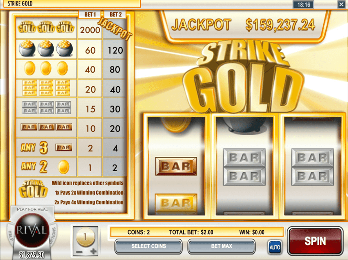 Gold Rush Slot Machine Online ᐈ Rival™ Casino Slots
