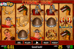 striking viking hd world match casino slots