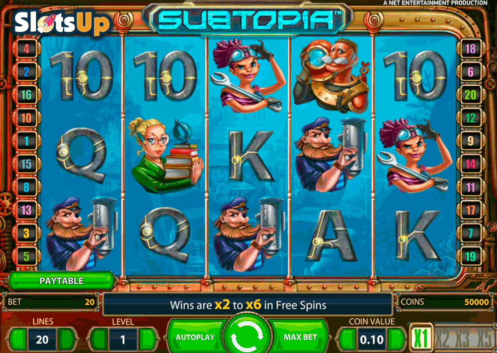 Subtopia - spil gratis online video slot