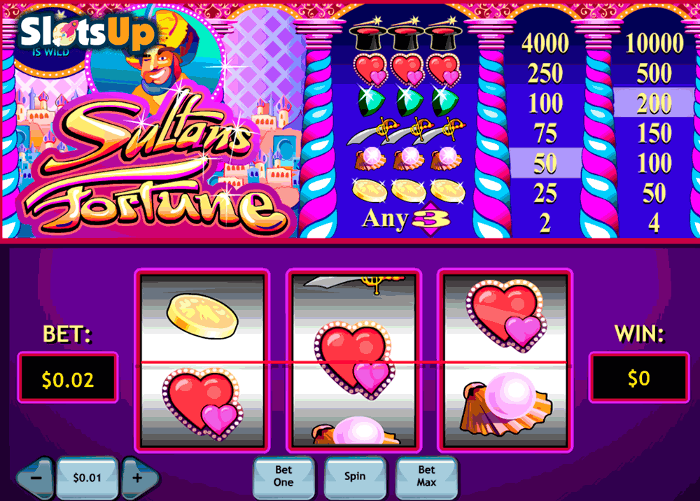 sultans fortune playtech casino slots