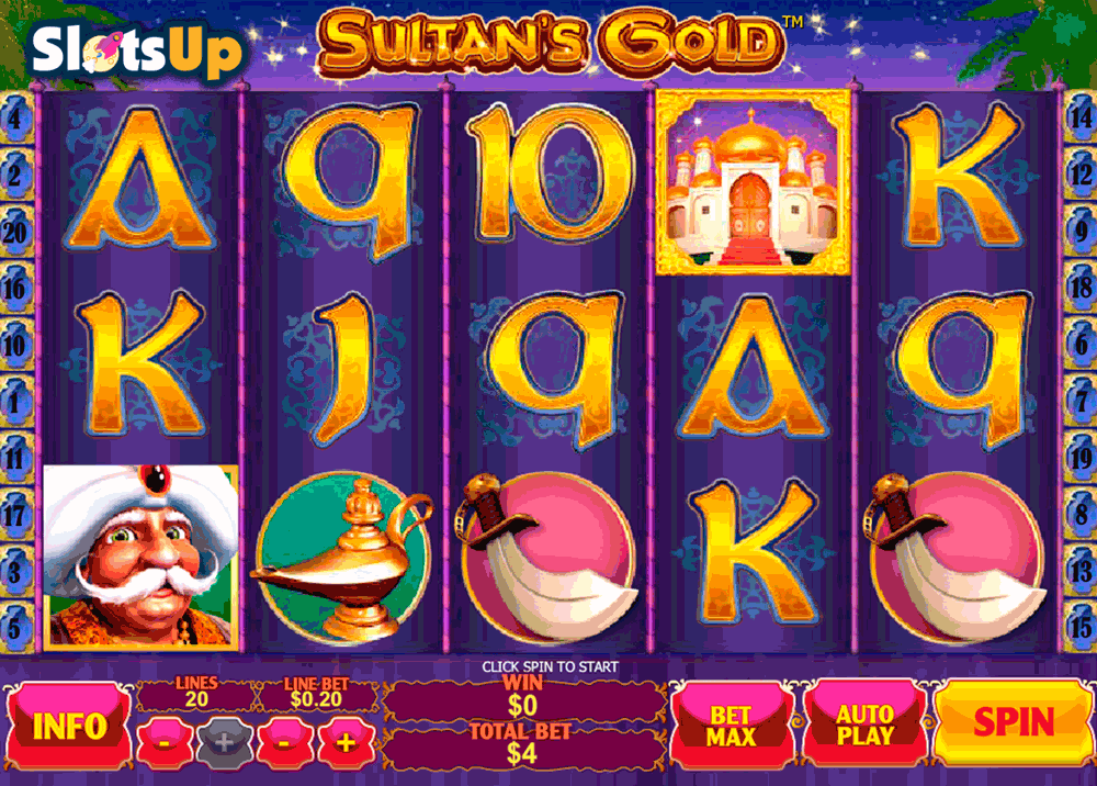 sultans gold playtech casino slots