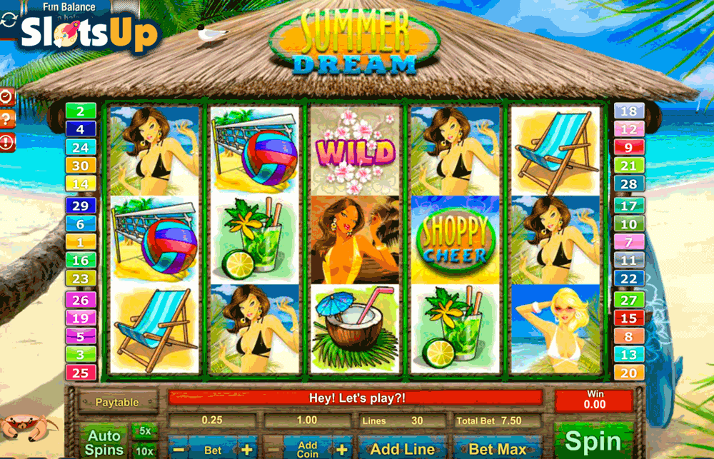 Endless Summer Slot Machine - Play Online for Free Money