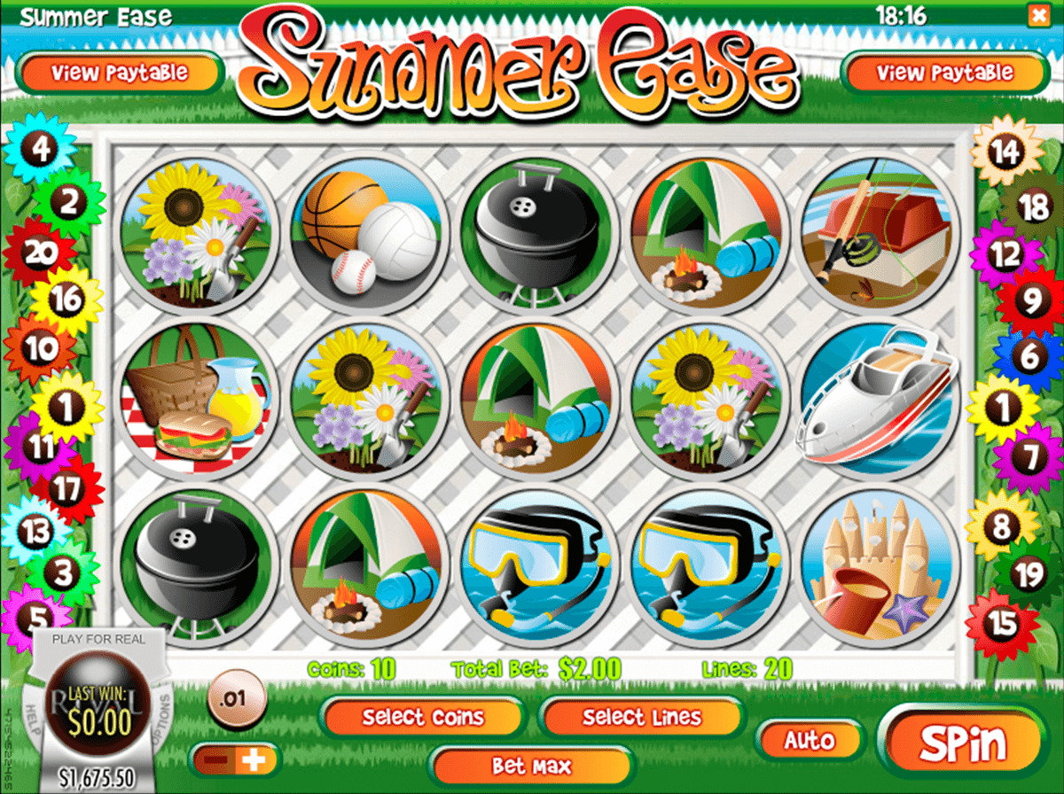 Summer Ease Slot Machine - Play for Free Online Today