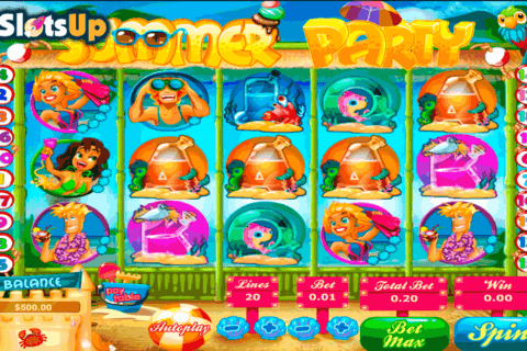 SUMMER PARTY TOPGAME CASINO SLOTS