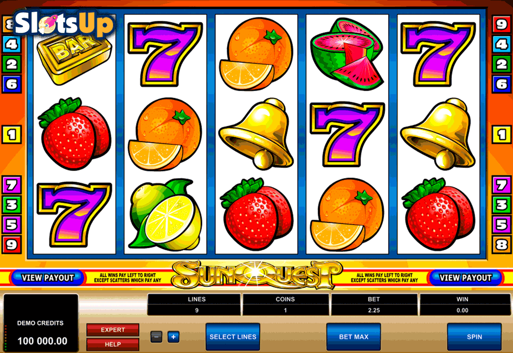 Pretty Sun Slot - Play this Video Slot Online