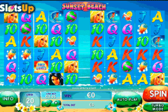 sunset beach playtech casino slots