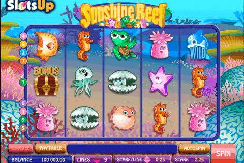 sunshine reef microgaming casino slots