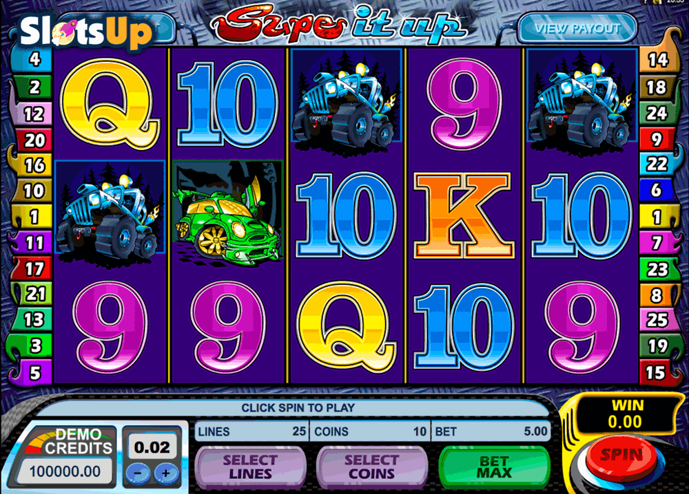 SUPE IT UP MICROGAMING CASINO SLOTS