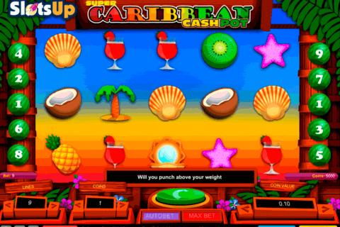 super caribbean cashpot 1x2gaming