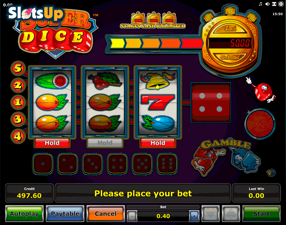 SUPER DICE NOVOMATIC CASINO SLOTS