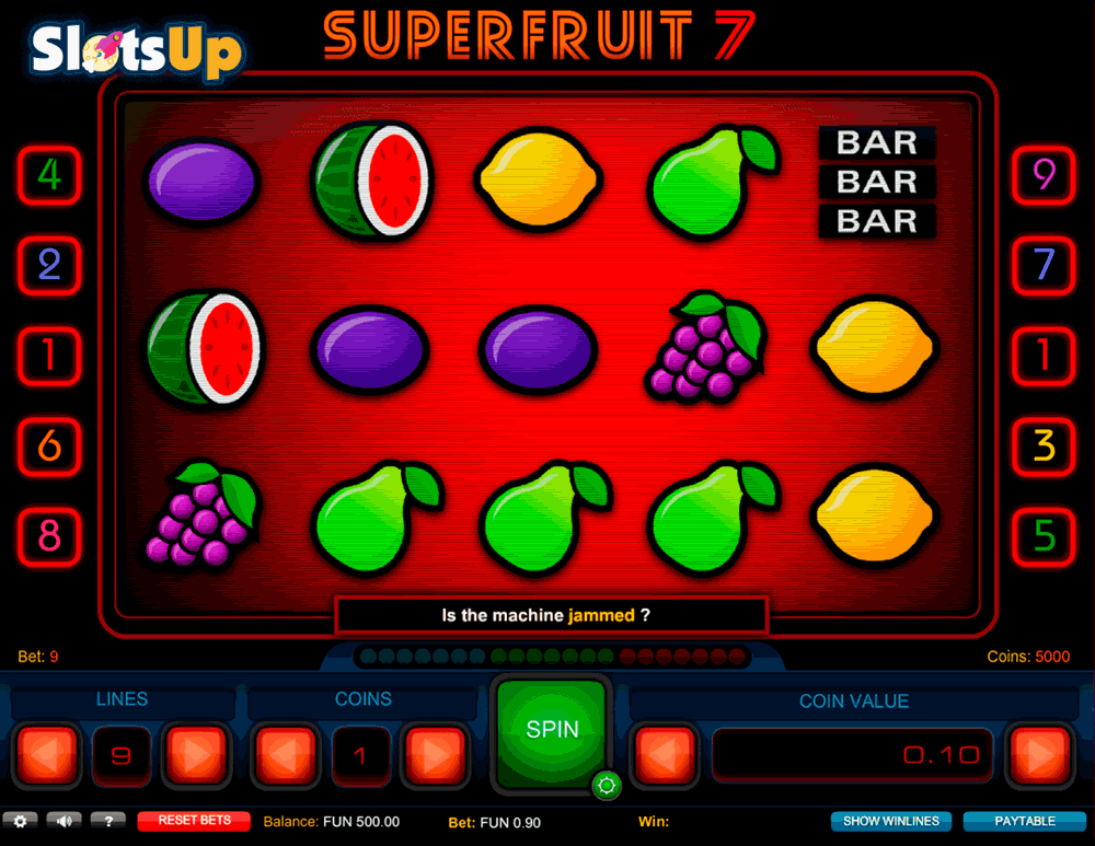 super fruit 7 1x2gaming
