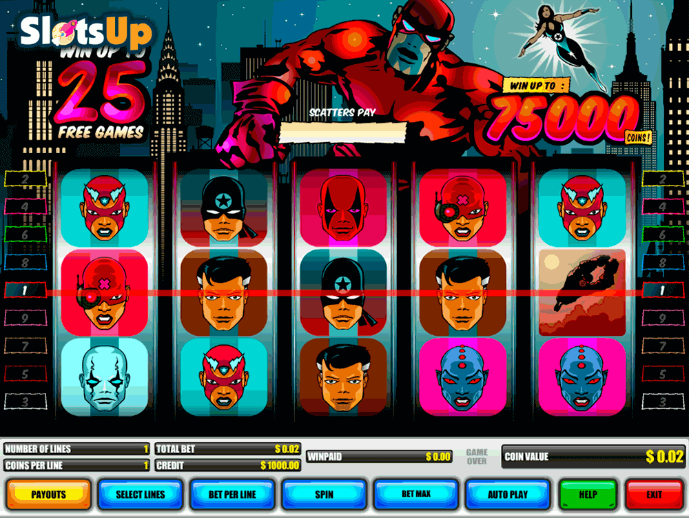 Real Life Super Heroes Slot - Play Online for Free Now