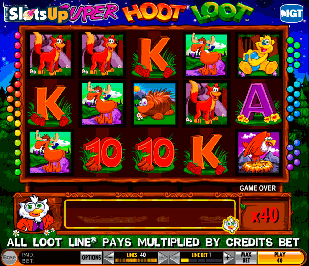 super hoot loot igt casino slots