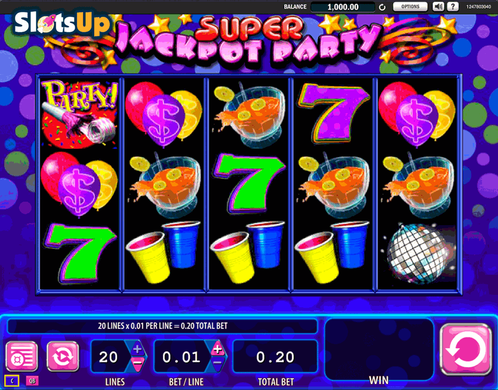 online slot jackpot party