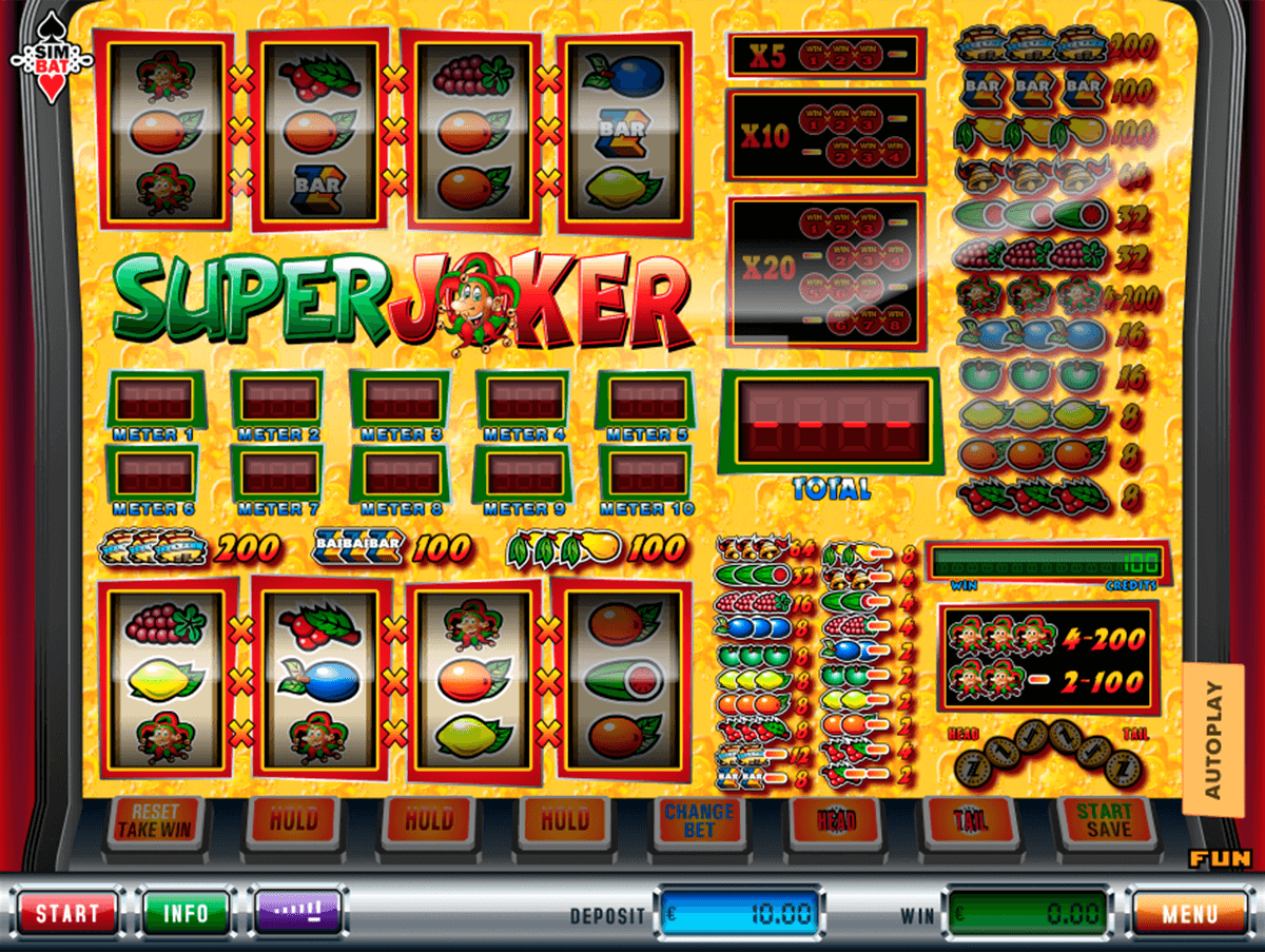 Super Jackpot Slot - Play the Free Simbat Casino Game Online