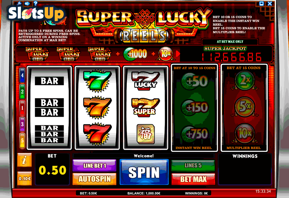 Super Lucky Reels Slot Machine Online ᐈ Isoftbet Casino Slots