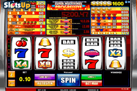 super multitimes progressive isoftbet casino slots