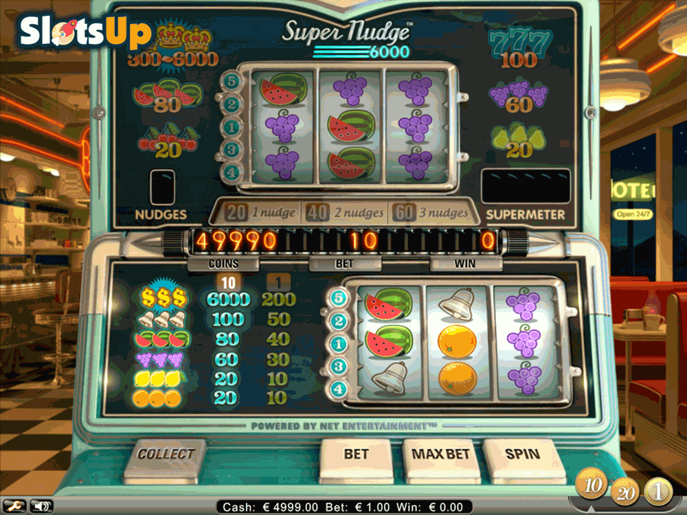 super nudge 6000 netent casino slots