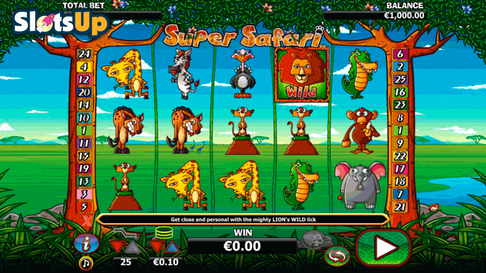 Safari Slot™ Slot Machine Game to Play Free in WGSs Online Casinos