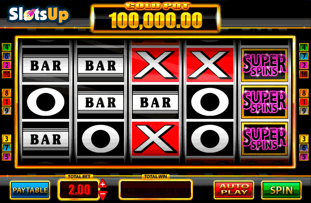 Super Pots Bar-X Slot - Try it Online for Free or Real Money