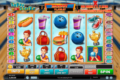 SUPER STRIKE HABANERO SLOT MACHINE