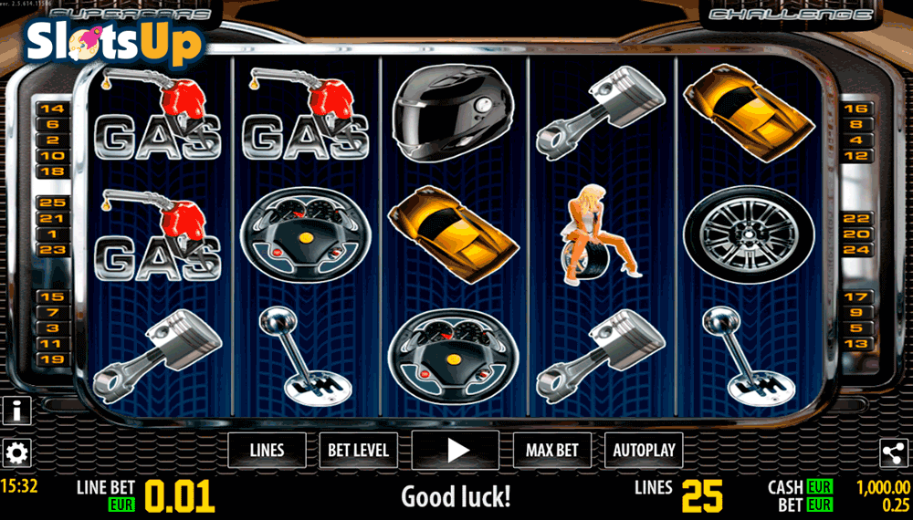Supercars HD™ Slot Machine Game to Play Free in WorldMatchs Online Casinos