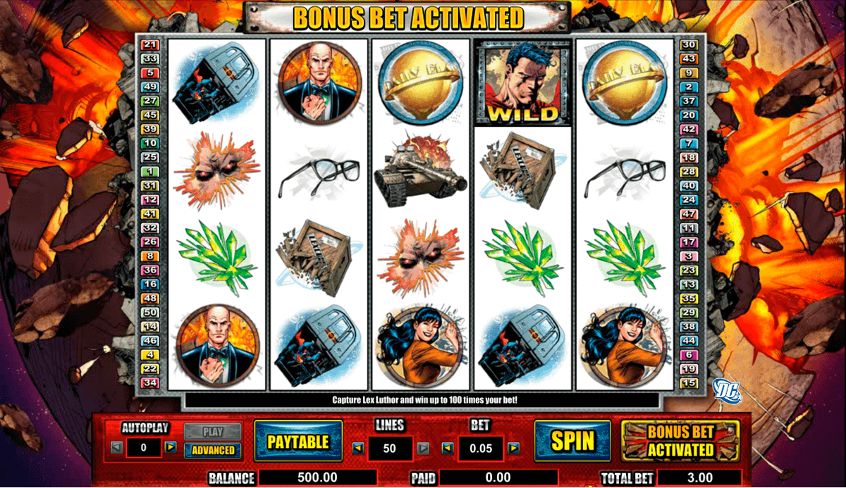 Superman Slot Machine Online ᐈ Amaya™ Casino Slots