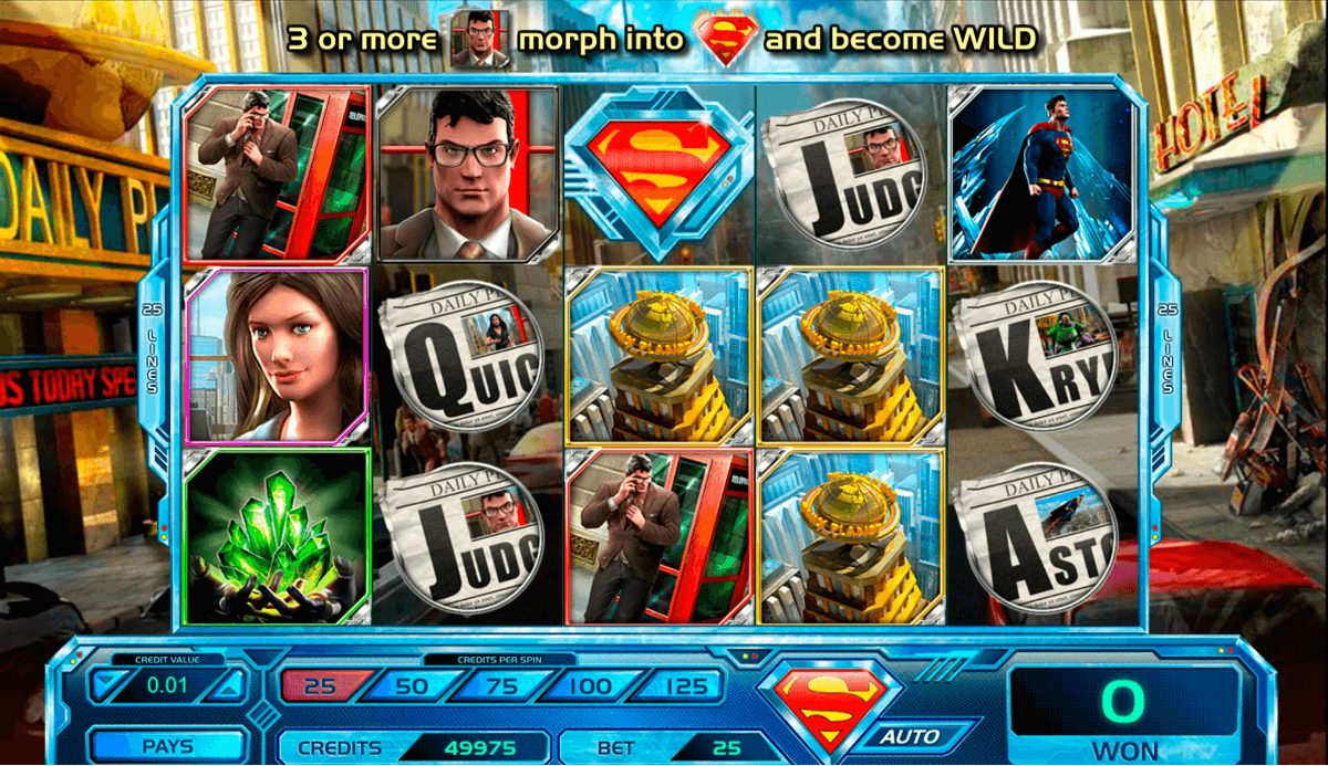 Superman Jackpots Slot Machine Online ᐈ Amaya™ Casino Slots