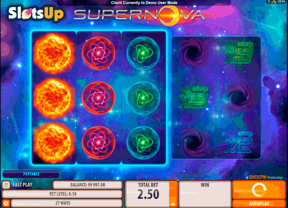 SUPERNOVA QUICKSPIN CASINO SLOTS