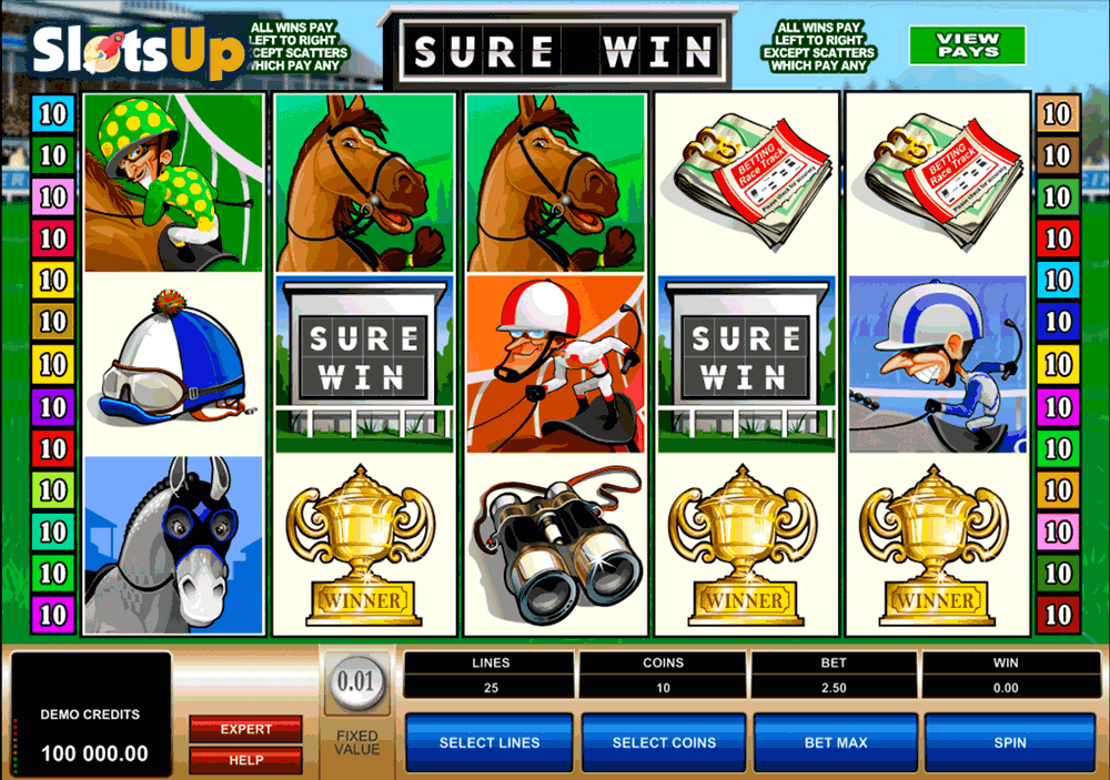 SURE WIN MICROGAMING CASINO SLOTS