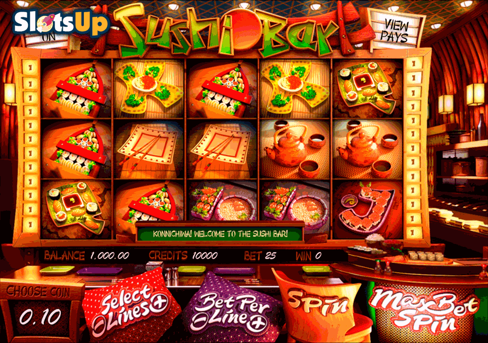 sushi bar betsoft casino slots