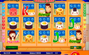 Sushi Booshi Mushi Slot - Win Playing Online Casino Games