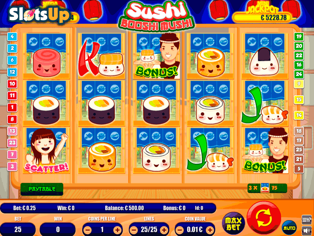Sushi Booshi Mushi Slot Machine Online ᐈ Portomaso Gaming™ Casino Slots