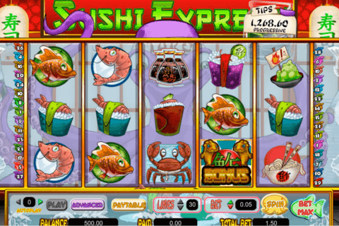 Sushi Express Slot Machine - Play Online Slots for Free