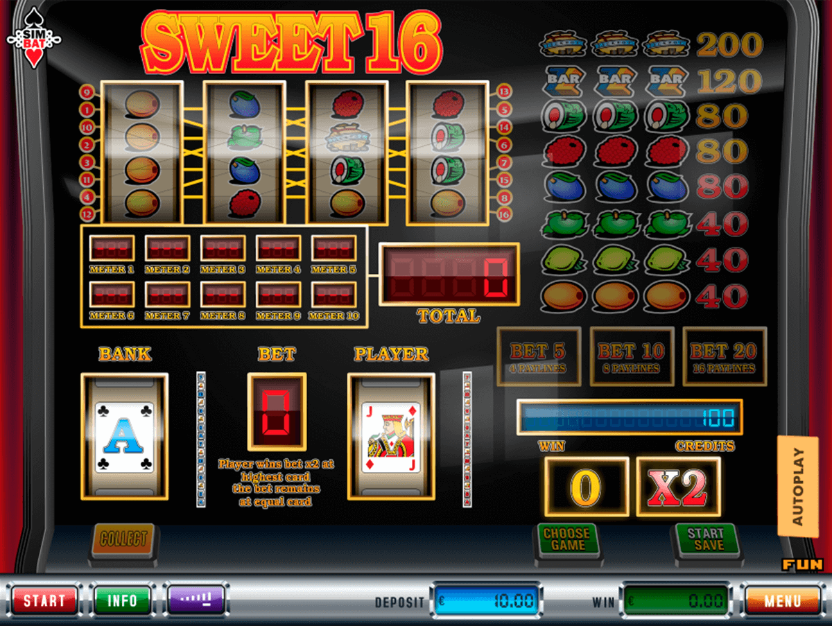 Sweet 16 Slot Machine Online ᐈ RTG™ Casino Slots