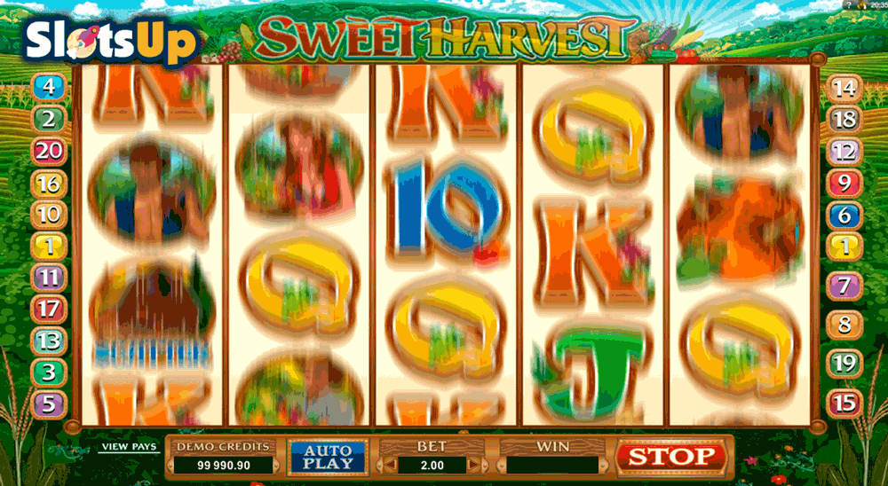 sweet harvest microgaming casino slots