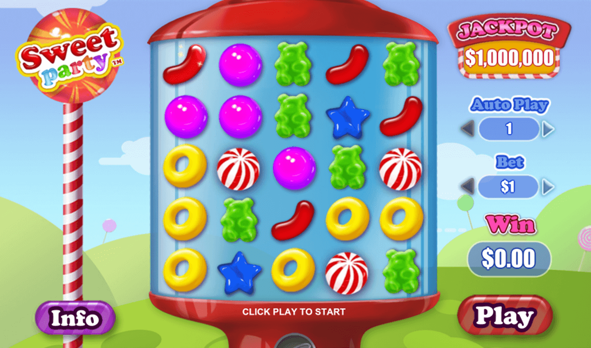 Play Sweet Party Slots Online at Casino.com India