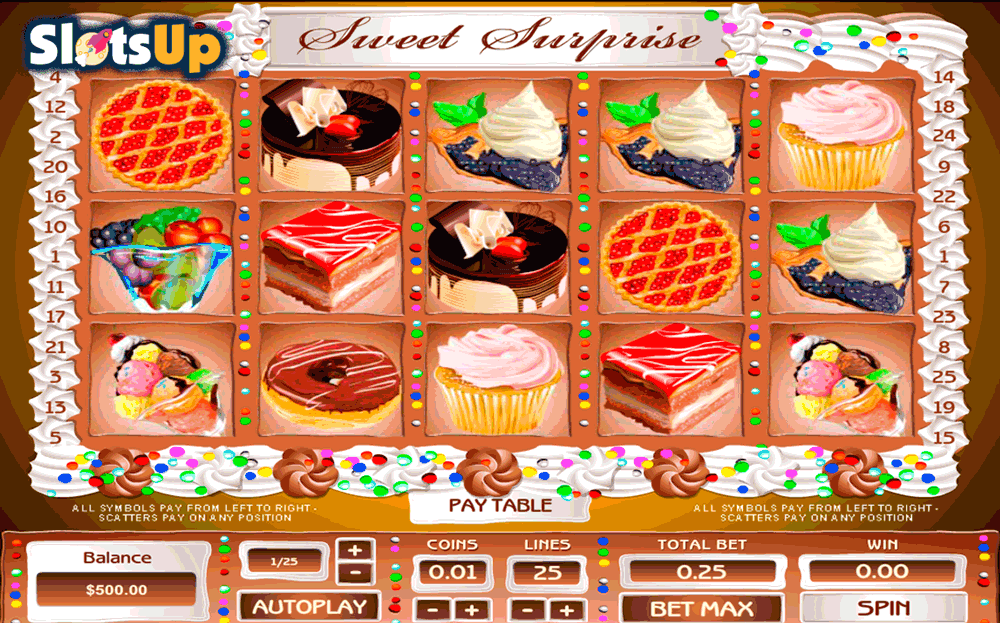 Sweets & Spins Slots - Play this Video Slot Online