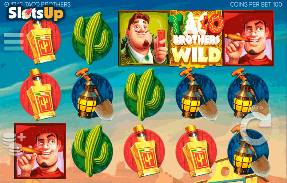 Taco Brothers Slot Machine Online ᐈ ELK™ Casino Slots